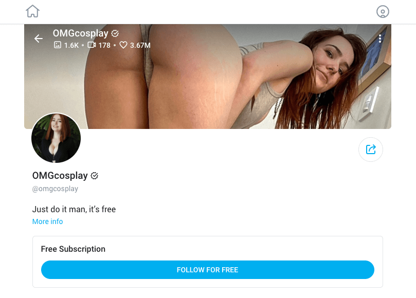 omgcosplay best free onlyfans accounts